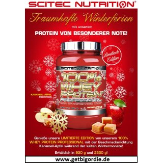 Scitec Nutrition 100% Whey Protein Professional *Winter Edition* 920g