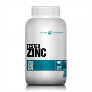 Tested Nutrition Zinc 30mg 250 Tabletten