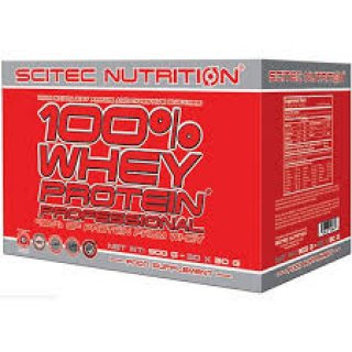 Scitec Nutrition 100% Whey Protein Professional Mix Pack Sommer Edition 30x30g