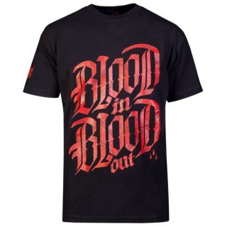 Blood In Blood Out Logo T-Shirt schwarz