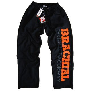 Brachial Sporthose Gym schwarz/orange S