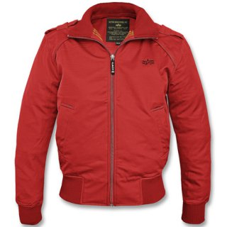 Alpha Industries Hawk Soft Shell Jacke rot